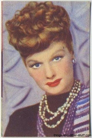 1951 Lucille Ball: Movie Stamps, Colors Movie, Cinema Movie
