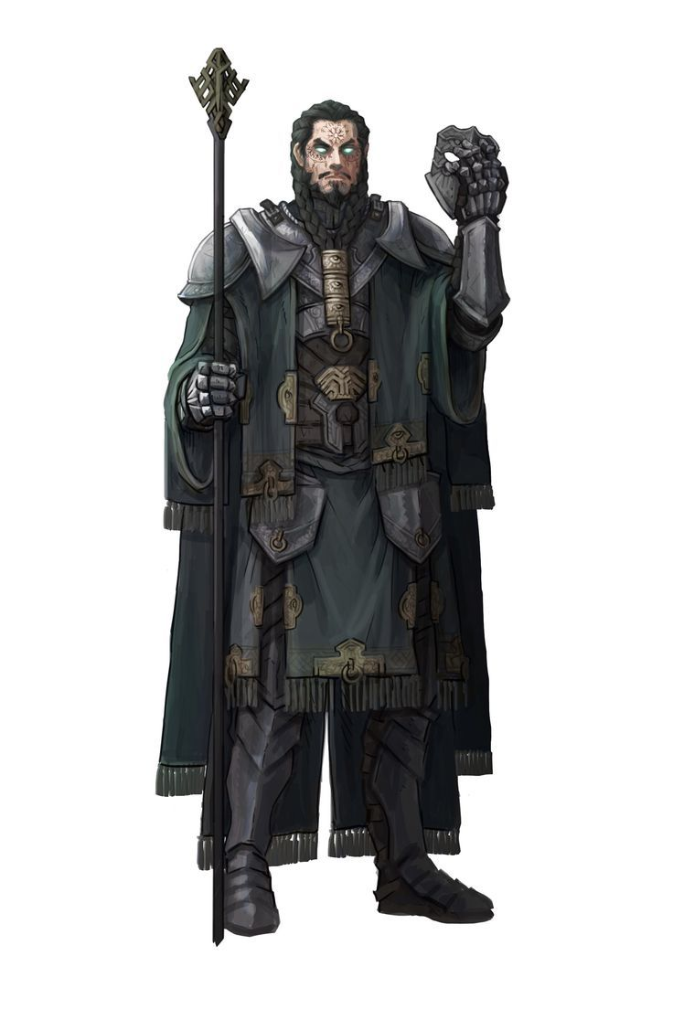 Dark Priest Concept Art