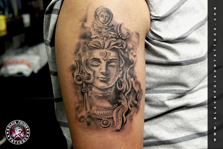 tattoo goa oberschenkel