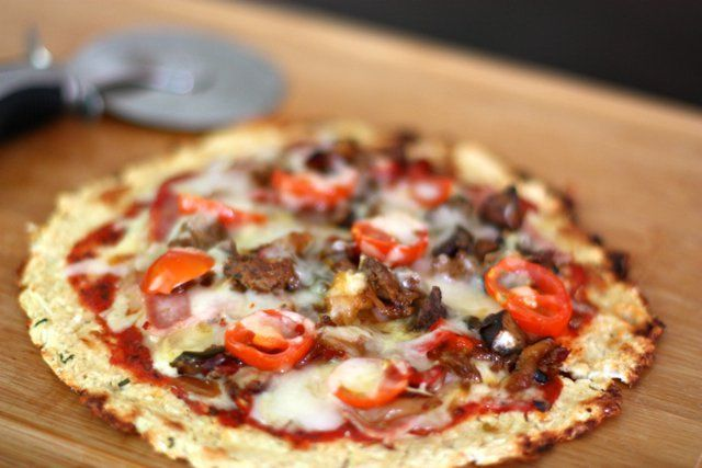 Meat Lovers Pizza with Cauliflower Crust - Danielle Walker's Against all Grain