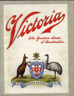 """Victoria, the Garden State of Australia    A handbook for rural home seekers / issued by authority of the Government of Victoria. (Melbourne : The Proprietors of """"Australia today"""", [1909])"""