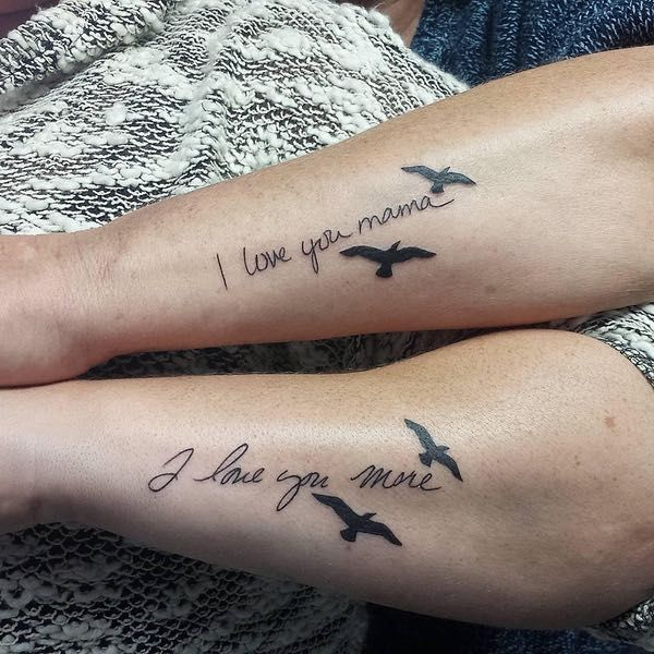 Tattoo Ideas To Honor Mom: 25+ Best Ideas About Mother Daughter Tattoos On Pinterest