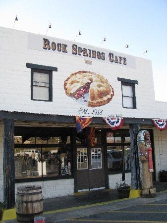 Rock Springs Cafe in Black Canyon City.  Consistently voted to have the best pies in Phoenix metro area.  And, they truly are...