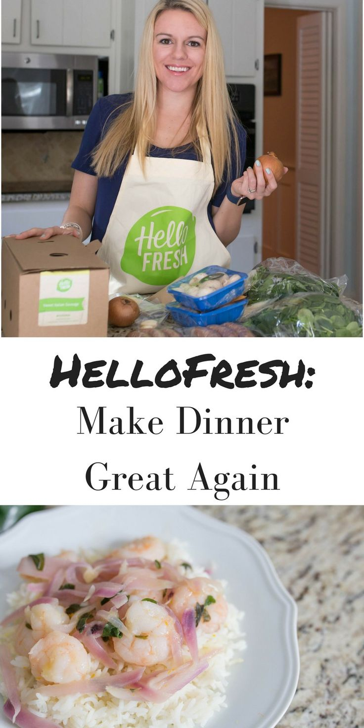 Have you ever been in a cooking rut? Where you are just ordering out or making boring meals every night? Learn how to take charge of the kitchen and making dinner and cooking fun and exciting again with @HelloFreshUSA! Delicious meals, fresh and healthy ingredients delivered to your door, what's not to love? Save $35 off your first box with the code 'CasualClaire35'!