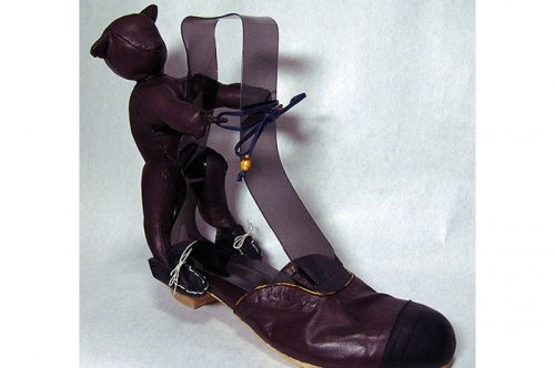 """""""Giyilebilir Sanat"""" japon tasarımı ayakkabı:O"""