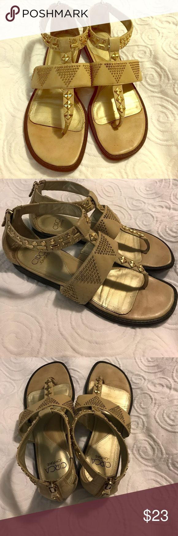 Circa Joan &David Zip Back Sandals Circa Joan &David Zip Back Sandals. Size 7. Gently Used. These beauties will be the ones you always want to wear❤️ circa joan & david Shoes Sandals