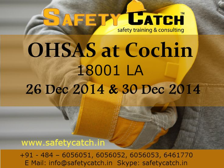 Hurry Register Now!#safetytraining #OHSAS #ohsastraining #ohsastraininginIndia #safetytraininginIndia #safetycatch #OHSAStrainingatcochin