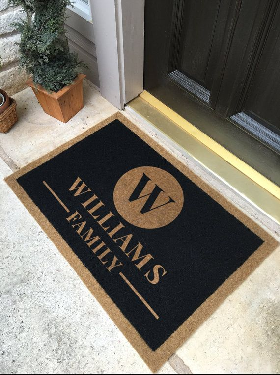 personalized door mat by infinity door mats  by infinitycustommats