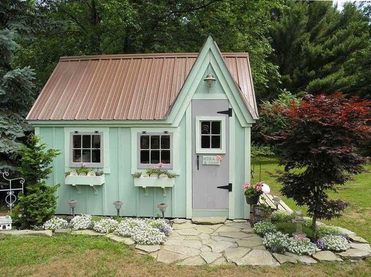 Garden Sheds That Look Like Houses 55 best garden sheds images on pinterest | garden sheds, garden
