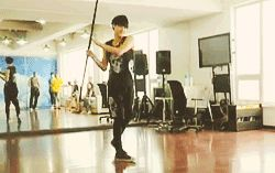 Tao being awesome, then hitting himself in the head. Because he's Tao. X3 (GIF)
