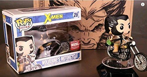 Funko Pop! Rides #26 Wolverine's Motorcycle Marvel Collector Corps Exclusive
