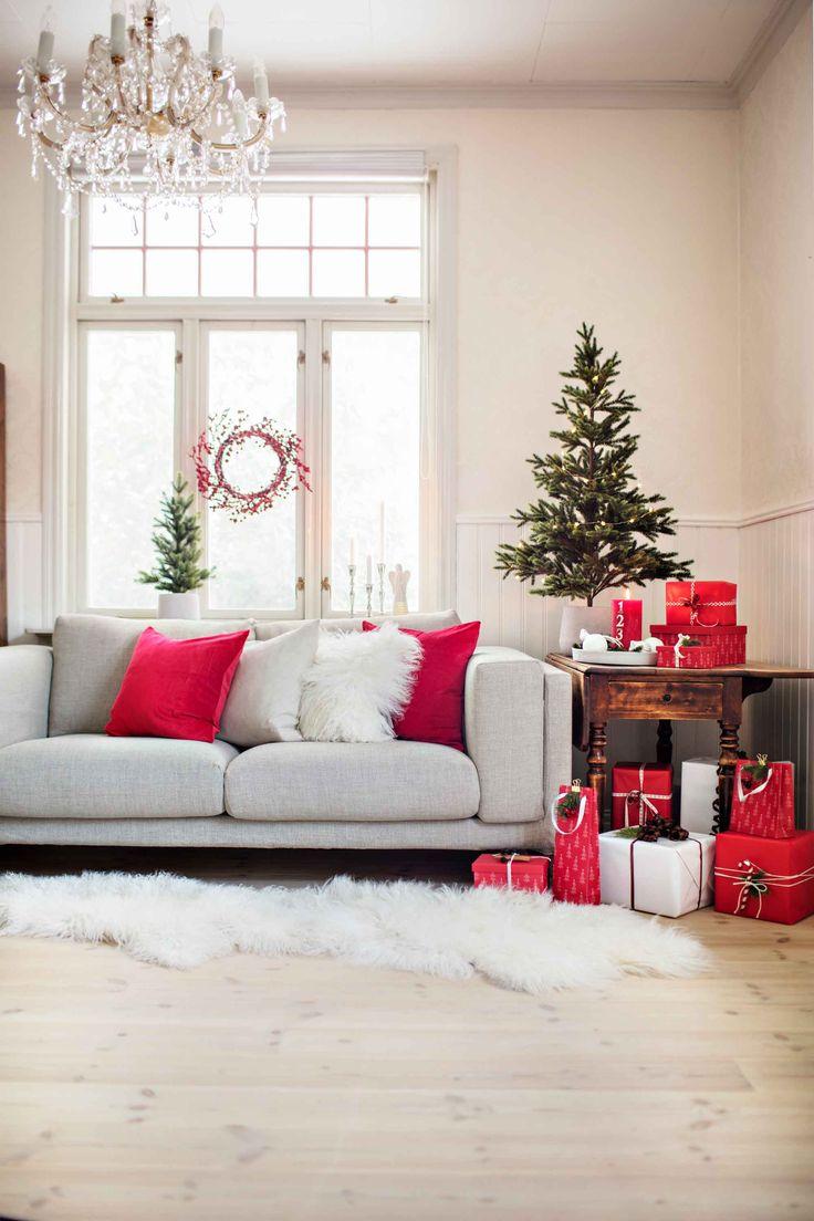 #Kremmerhuset #juletre #rødjul #putetrekk #pynt #julepynt #jul