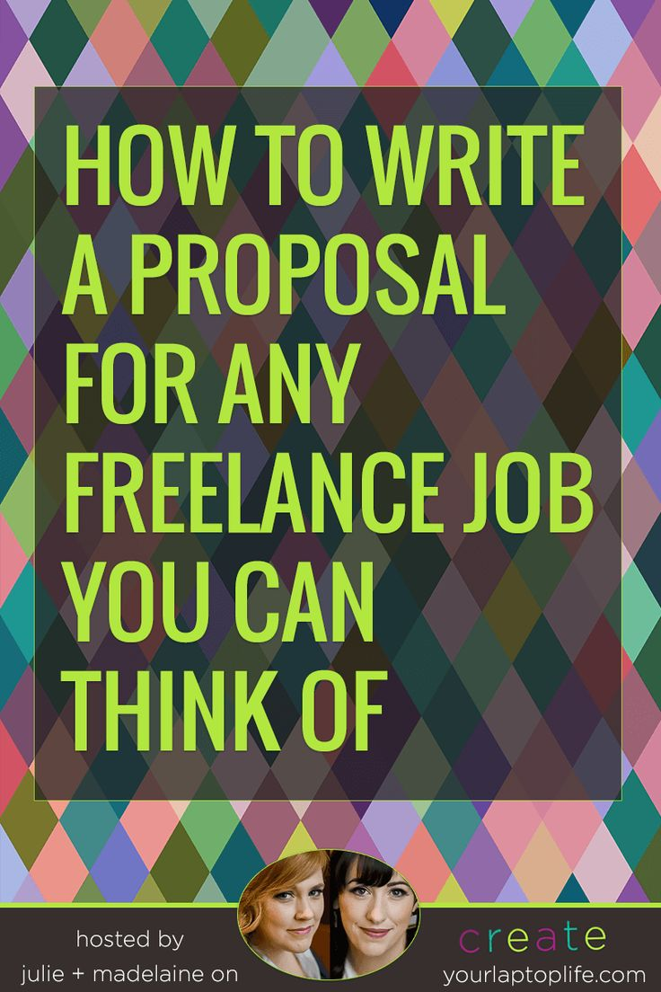 How to Write a Proposal for ANY Freelance Job // Create Your Laptop Life