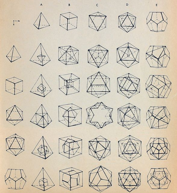 Polyhedrons3D Shape, Painting Art, Math Art, 3D Drawing, Sacredgeometry, Sacred Geometry, Geometric Design, Geometric Shape, Tattoo