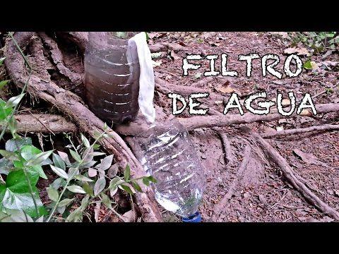 Como filtrar agua en una situación extrema - YouTube