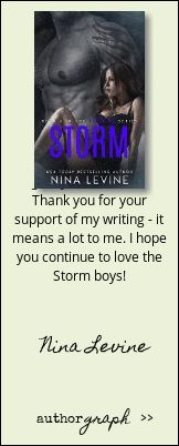 """Authorgraph from Nina Levine for """"Storm (Storm MC"""