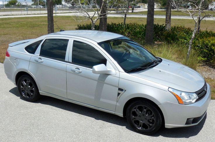 2008 Ford Focus CARFAX CERTIFIED FLORIDA SPECIAL EDITION SES~NICE