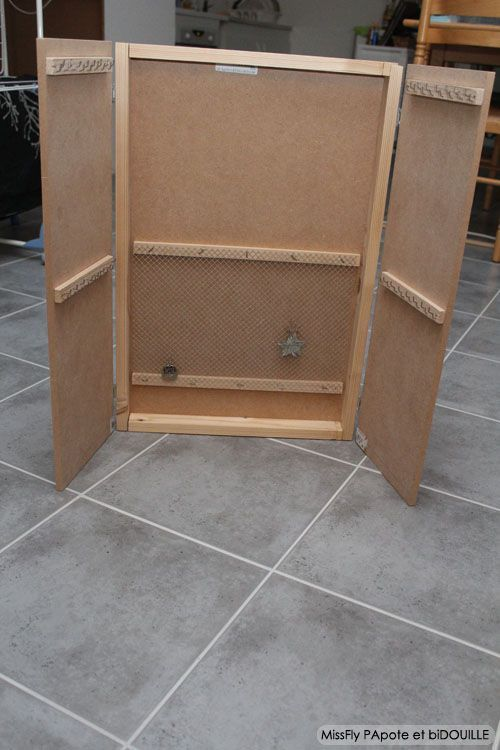 Fabrication d'une armoire a bijoux