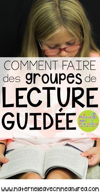 How I put my guided reading groups together | comment mettre ensemble des groupes de lecture guidée