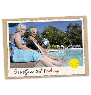 Groetjes uit.. Portugal! #Hallmark #HallmarkNL #foto's #vakantie #fotokaart
