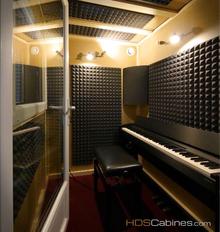 cabine acoustique isolation acoustique isolation phonique par hds cabines cabine acoustiques. Black Bedroom Furniture Sets. Home Design Ideas