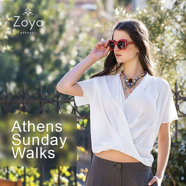 Take a walk and enjoy #Zoya !   #Athens #saturday #beautiful #fashion #style #SS2015