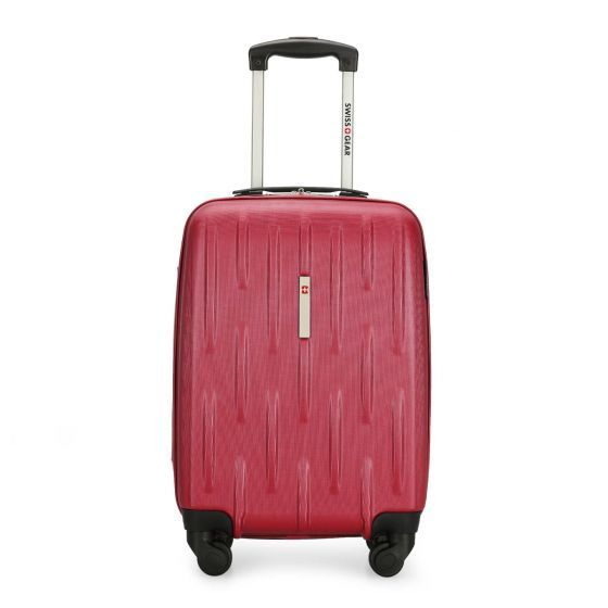 Heading out-of-town for the Canada Day weekend? Bring this his fabulous red hardside luggage with you. Both lightweight and impact resistant, the wheels system allows you to move your luggage in all directions. This number features 4 multidirectional wheels, a push-button locking handle, an inside zippered compartment, shoe pockets, a zippered mesh pocket, inside tie-down straps and top handle. Three piece luggage set also available. Sold separately.