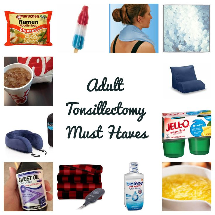 Pin on tonsillectomy recovery
