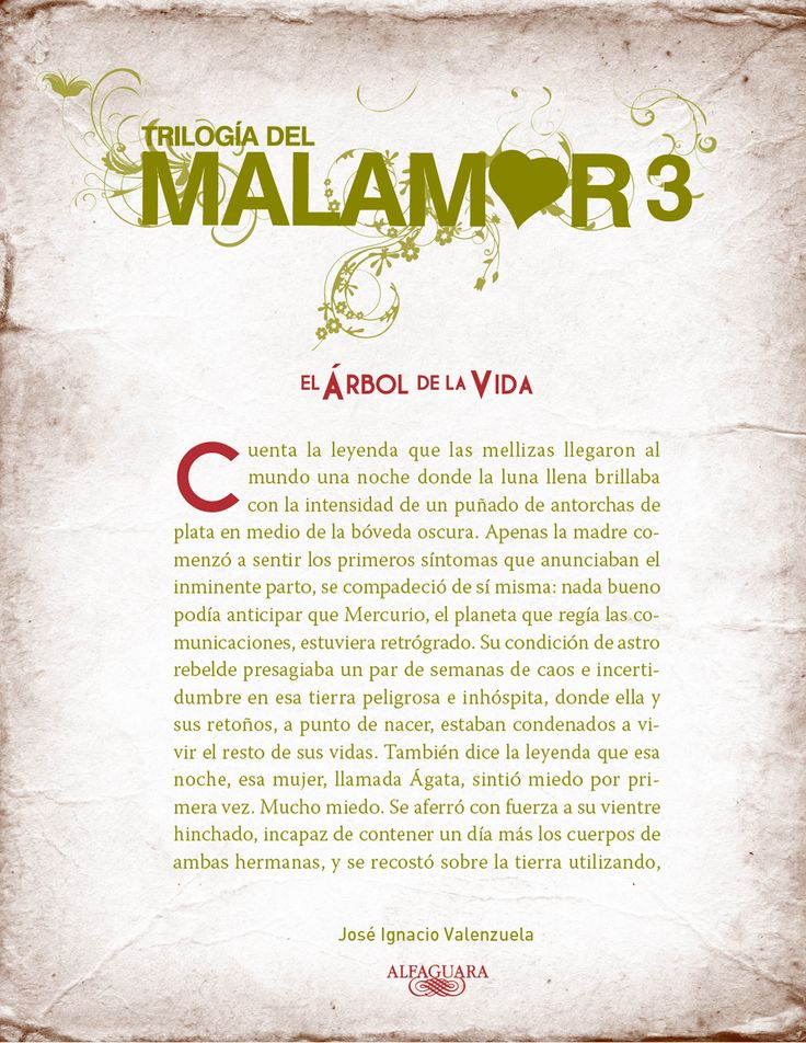 """""""MALAMOR 3, El árbol de la vida."""""""