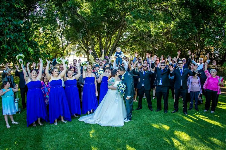 The most perfect part of our day was being surrounded by those we love  Photography credit to TB Photography and Videography