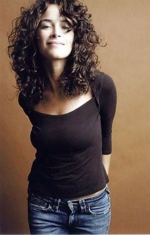 Easy Curling Hairstyles For Shoulder Length Hair : Top 25 best medium length curly hairstyles ideas on pinterest