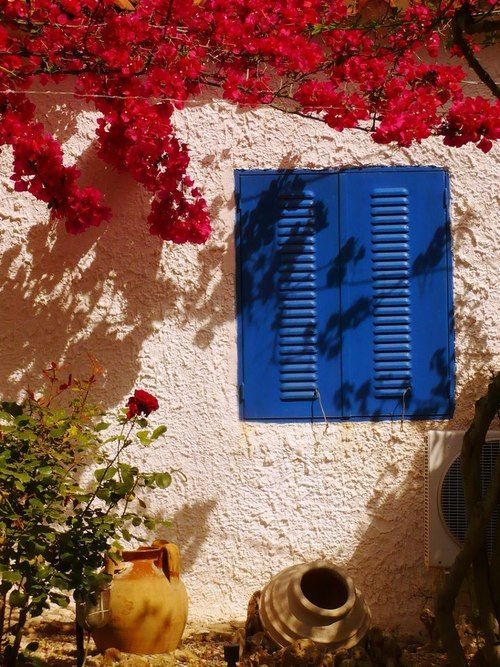 House in Koroni (Peloponnese), Greece