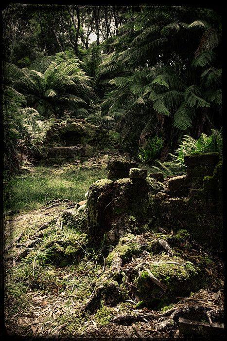 Sarah Island - Convict Ruins, Strahan, Tasmania, Australia