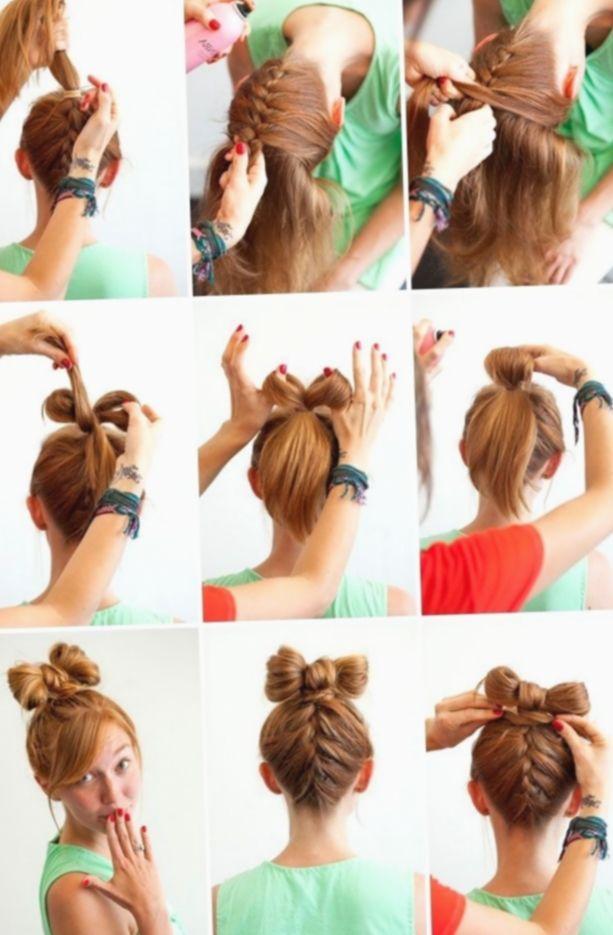 Peinados Faciles De Hacer Dilatado Hochz Medio Peinados Peinados Con Trenzas Peinados Faciles Pelo Corto