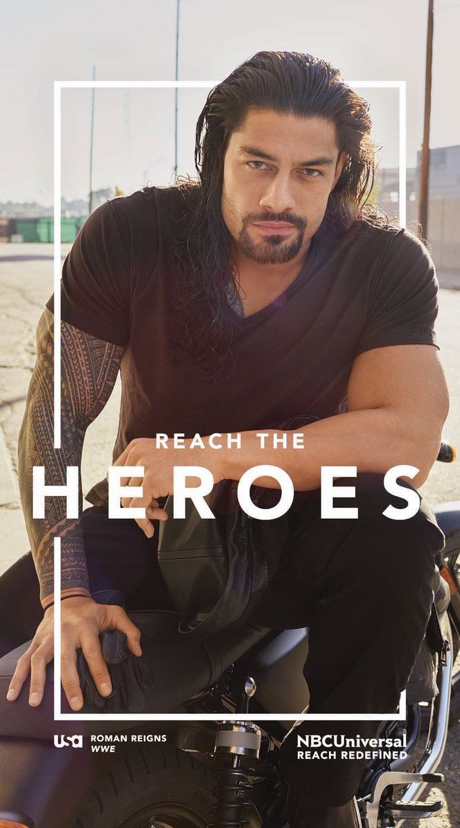 Roman Reigns- he us too beautiful to be in the WWE!!