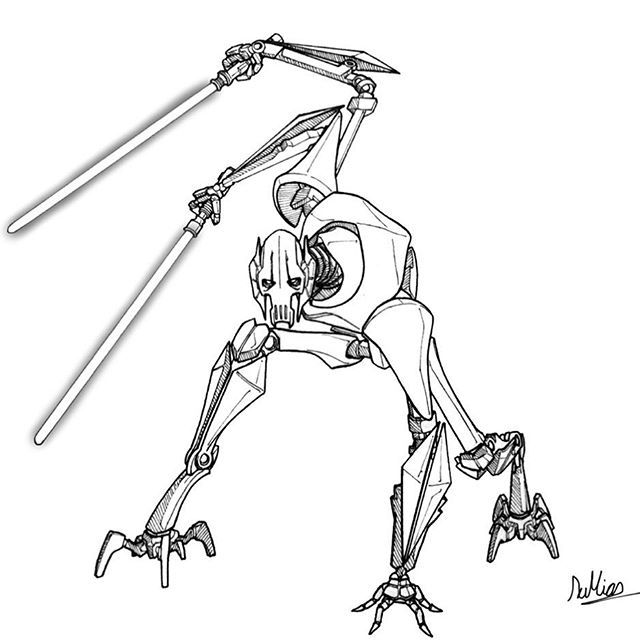 Qymaen Jai Sheelal General Grievous 2019 Here It Is My Last