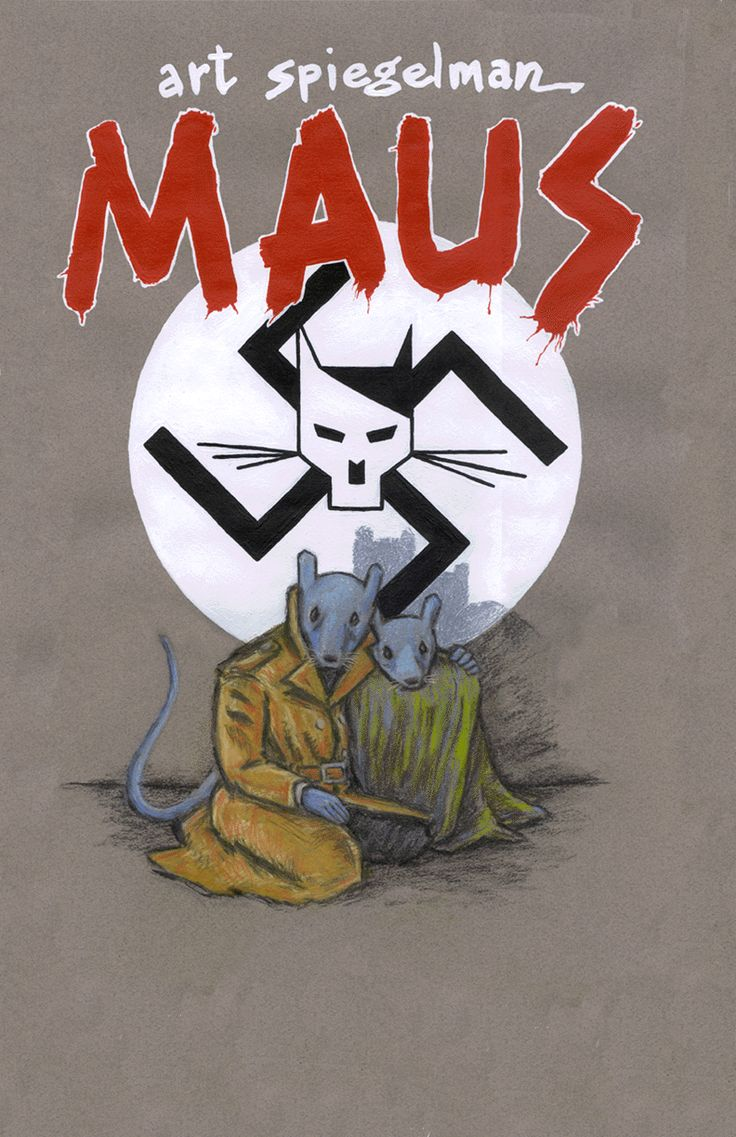 Top 10 Literary Graphic Novels --- If you read just one graphic novel in your life, read Maus. It is an incredible retelling of WWII in graphic novel form. It is haunting and moving. A great read.