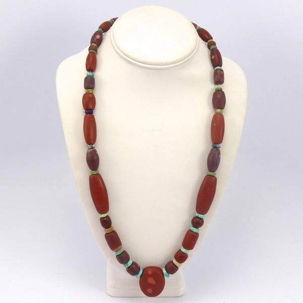 Pipestone Necklace, Bob Hall, Jewelry, Garland's Indian Jewelry