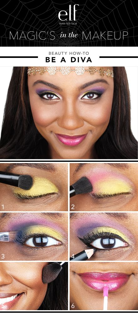If you're not a DIVA on a regular basis, test out your skills on Halloween Elfette! The e.l.f. DIVA Beauty Book is the perfect kit to get the look with and use later on too! From shadows to lips, we've got you covered.