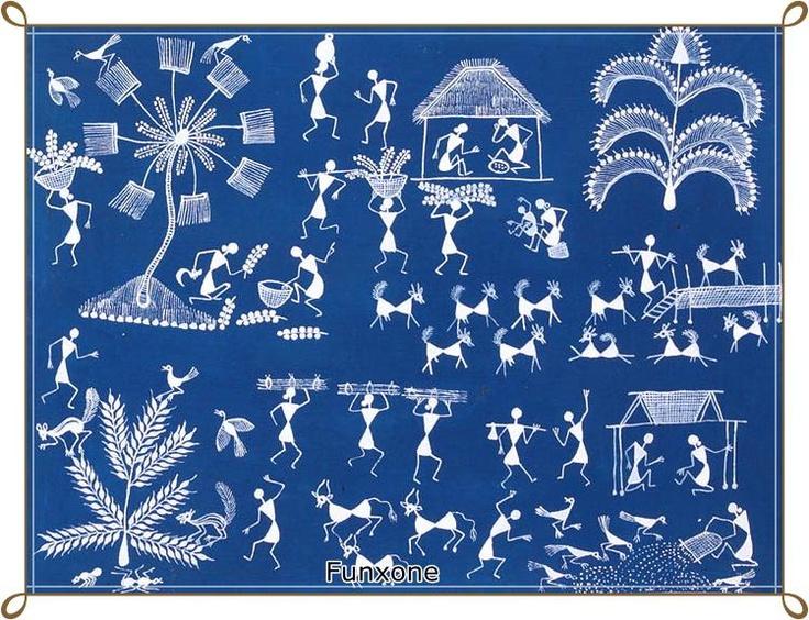 Indian folk art (Warll)