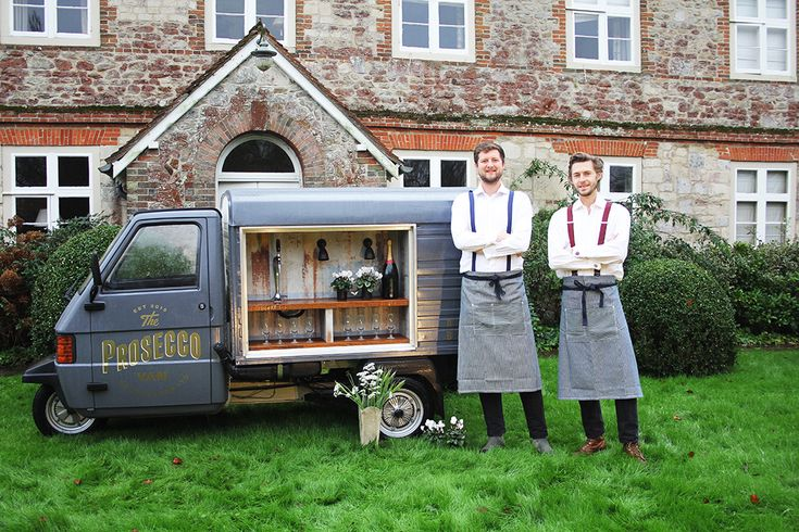 You know what your wedding needs? A 3-wheeled Piaggio Ape van, imported from…