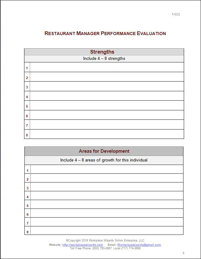 11 best eval images on Pinterest Evaluation form, Performance - format of performance appraisal form