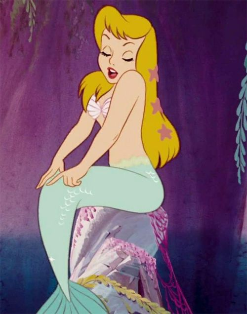 MERMAID LAGOON. misskittymunster: Peter Pan mermaid ( 1953 )