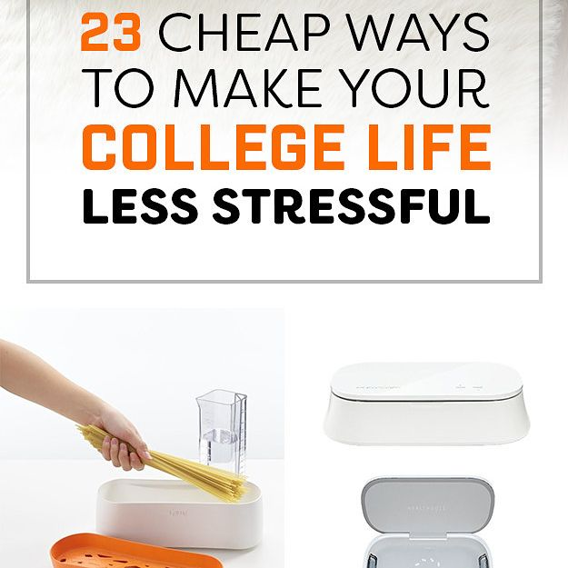 23 Cheap Ways To Make Your College Life Less Stressful