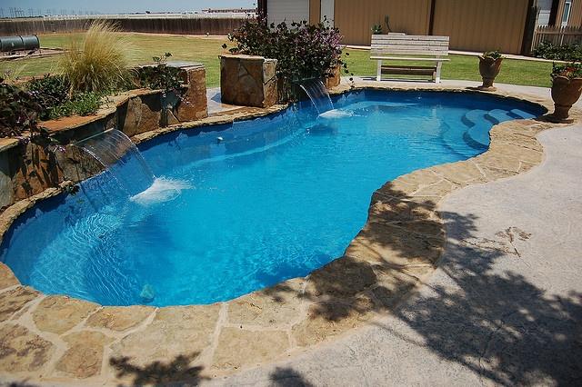 Freeform Swimming Pool Example Wish This Was Your Pool Freeform Pool Designs Pinterest