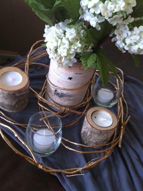 Best ideas about birch centerpieces on pinterest