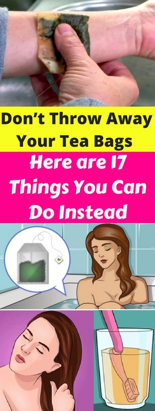 Don't Throw Away Your Tea Bags – Here are 17 Things You Can Do Instead – healthycatcher