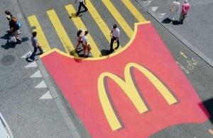 Creatief adverteren op straat