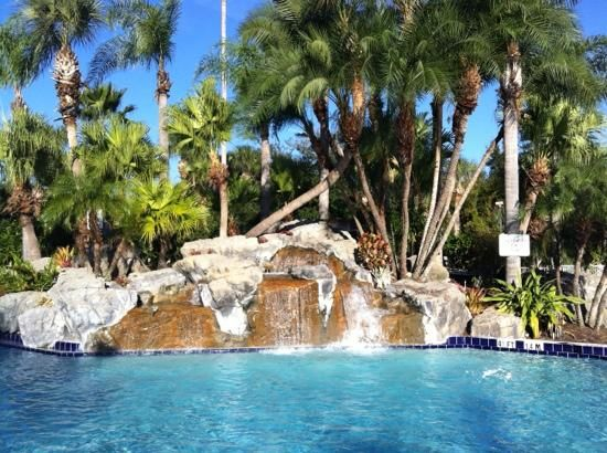 International Palms Resort & Conference Center: gorgeous pool, kids loved it!