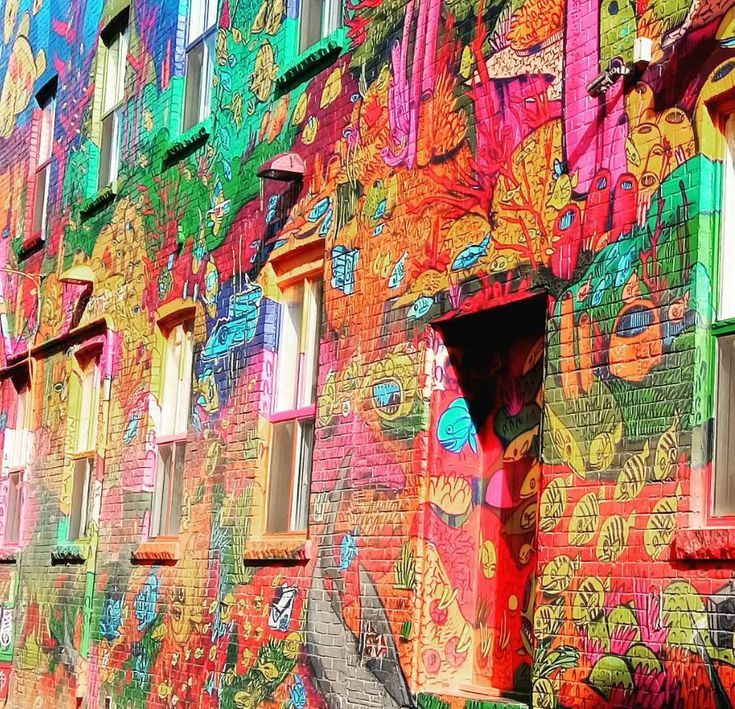 This vibrant alleyway which runs south of Queen Street West from Spadina Avenue to Portland Street beginning at 1 rush lane, is a justifiably popular spot to nab insta-worthy snaps. It's bold, it's bright, it's fun and it looks great on Instagram.